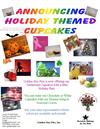 Holiday Cupcakes Flyer