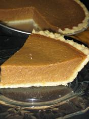 Pumpkin Pie - A true classic with just the right amount of spices!