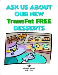 Trans-Fat Free Sign