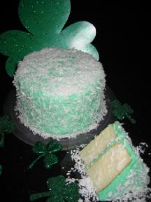 Green Coconut Cake Available in Regular & No-Sugar-Added