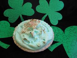 Green Coconut Cream Pie also available with Whipped Topping